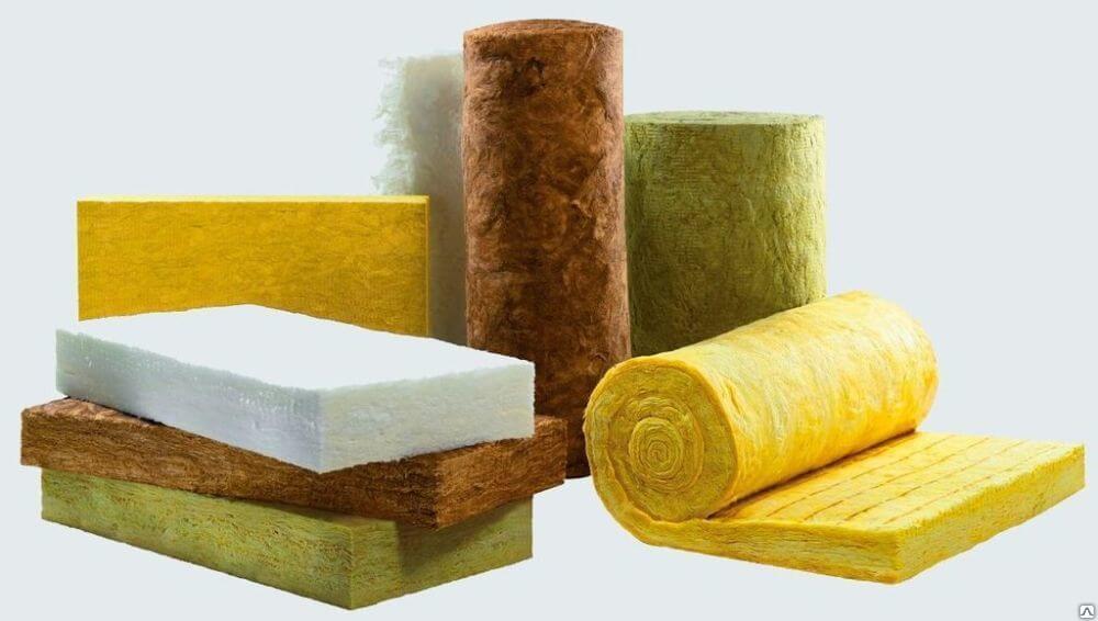 Основные виды теплоизоляционных материалов